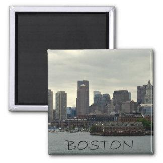SEAPORT OF BOSTON HARBOR FRIDGE MAGNET