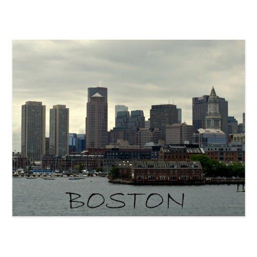 SEAPORT OF BOSTON HARBOR POST CARDS
