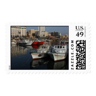Seaport of Tartus, Syria Postage Stamp