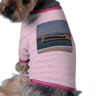 Seaport Village Aircraft Carriers Pier Water Bay D Dog T-shirt