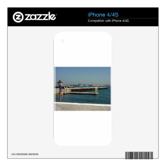 Seaport Village Aircraft Carriers Pier Water Bay D iPhone 4S Decals