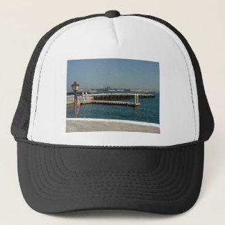Seaport Village Aircraft Carriers Pier Water Bay D Trucker Hat