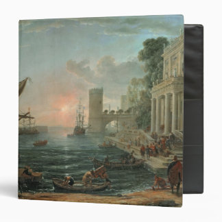 Seaport with the Embarkation Binder