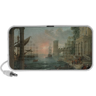 Seaport with the Embarkation Mini Speaker