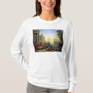 Seaport with the Embarkation of St. Ursula T-Shirt