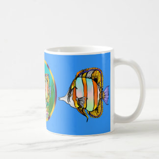 Seaquarium Mugs Angels and Butterfly Anemones