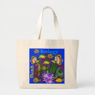 Seaquarium Tote Bags Think Ecology