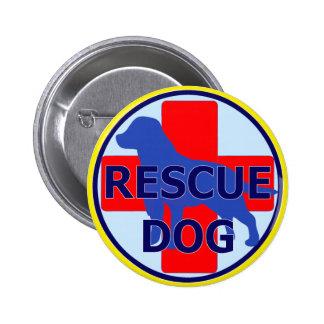 SEARCH AND RECUE DOG SARDA PINBACK BUTTON