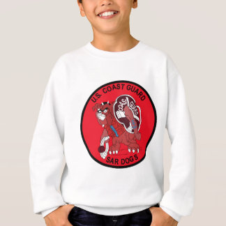 SEARCH AND RESCUE, COAST GUARD, MILITARY PATCH, VE SWEATSHIRT