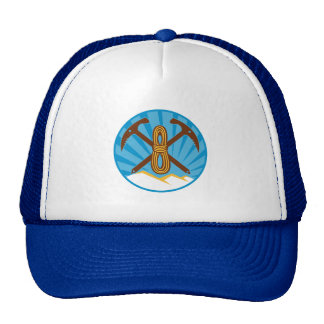 search and rescue SAR mountaineering company Trucker Hat