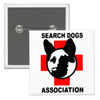 SEARCH DOG ASSOCIATION BUTTONS