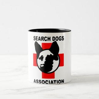 SEARCH DOG ASSOCIATION Two-Tone COFFEE MUG