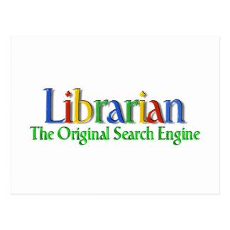 Search Engine de la original del bibliotecario Postales