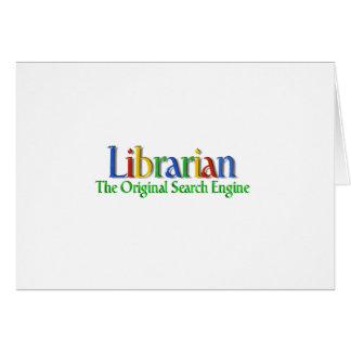 Search Engine de la original del bibliotecario Tarjeta