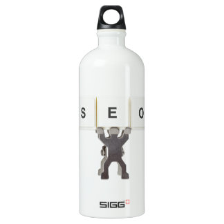 Search Engine Optimization Aluminum Water Bottle