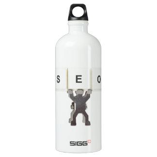 Search Engine Optimization Aluminum Water Bottle