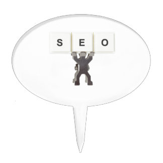 Search Engine Optimization Cake Toppers