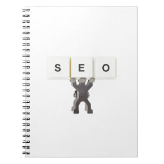 Search Engine Optimization Spiral Notebooks