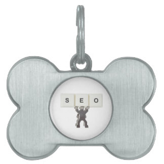 Search Engine Optimization Pet Name Tags