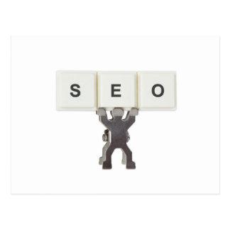 Search Engine Optimization Postcard