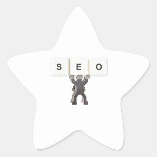 Search Engine Optimization Star Sticker