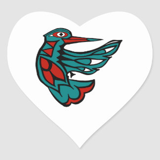 SEARCH FOR NECTAR HEART STICKER