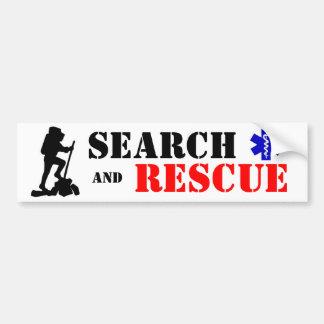 Search & Rescue bumper sticker Car Bumper Sticker