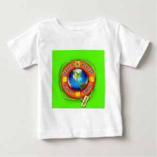 Search & Rescue--Planet Earth! Flag Baby T-Shirt