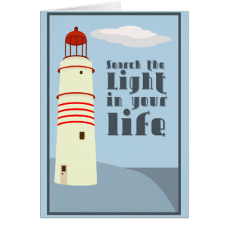 Search the light in your life card