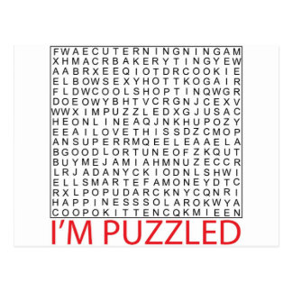 search word puzzle02 postcard
