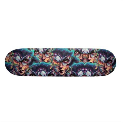 Searching Deep Blue Skateboard