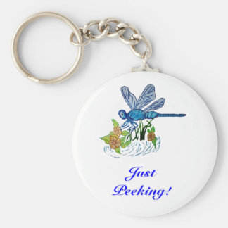Searching Dragonfly Keychain