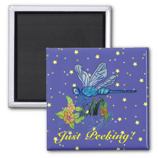 Searching Dragonfly Refrigerator Magnets