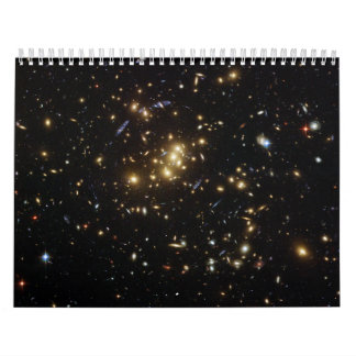 Searching for Dark Matter in a Galaxy Cluster Calendars