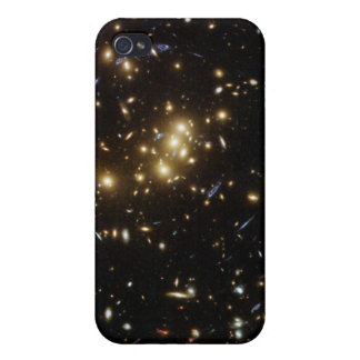 Searching for Dark Matter in a Galaxy Cluster iPhone 4/4S Cases