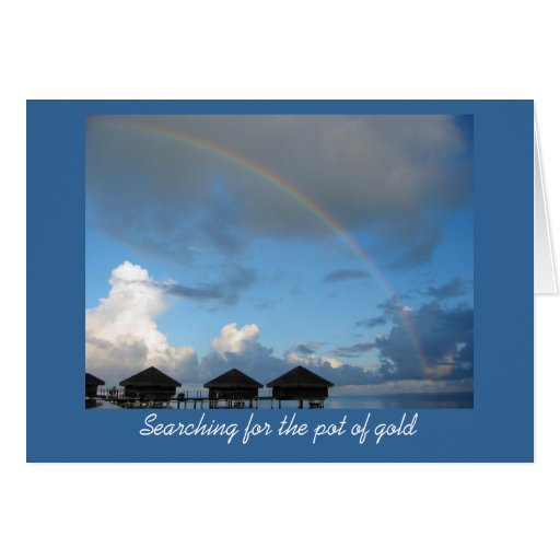 Searching for Gold Note Card