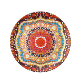 Searching for Infinity by KCS Porcelain Plate