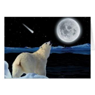 Searching POLAR BEAR II Greeting Card