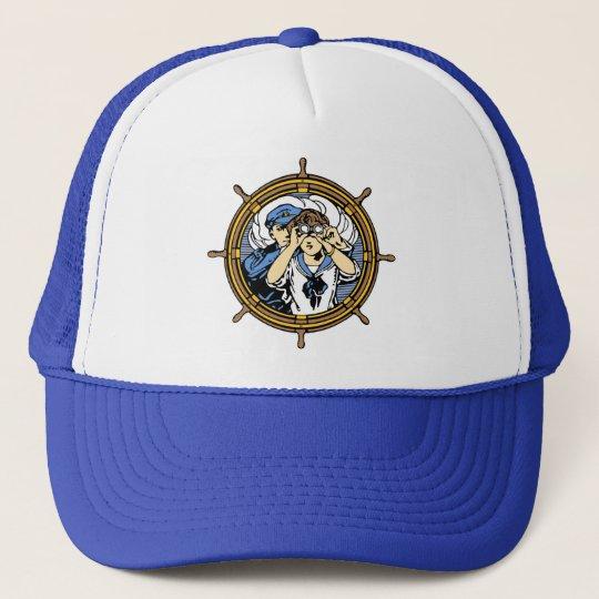 Searching the Ocean Waves Trucker Hat