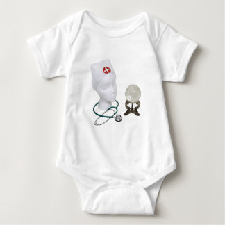 SearchingMedicalCures090409 Baby Bodysuit