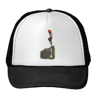Searchlight Signal Mesh Hat