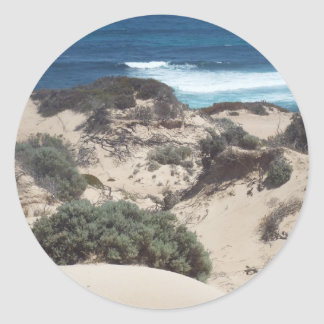 Searcy Bay sandhills Classic Round Sticker
