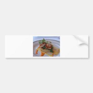 Seared Scallops Car Bumper Sticker