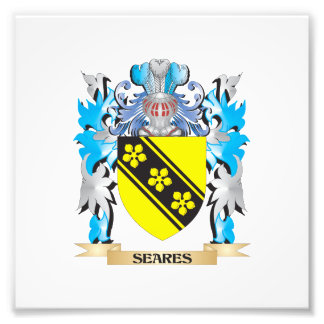 Seares Coat of Arms - Family Crest Photo Print