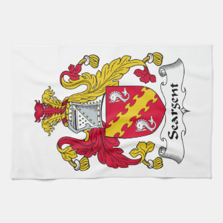 Seargent Family Crest Hand Towels