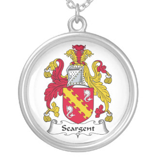 Seargent Family Crest Necklaces
