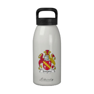 Seargent Family Crest Reusable Water Bottle