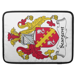 Seargent Family Crest Sleeve For MacBooks