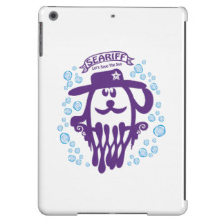 SEARIFF, Let's Save The SEA. iPad Air Covers