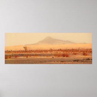 Searing land - Sahara Poster